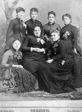 Ladies Group; Sterling, Illinois
