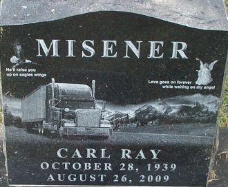 Carl R Misener grave