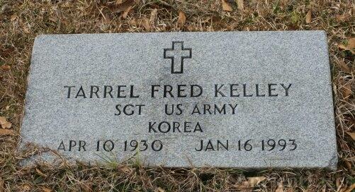 Tarrel F Kelley gravesite