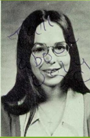 Tanya Thaxton 1974 Yearbook