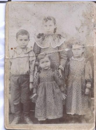 Allen and Emma's Four Oldest Children
