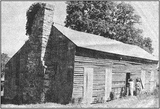 Nathan Boone & Olive VanBibber Boone's Cabin