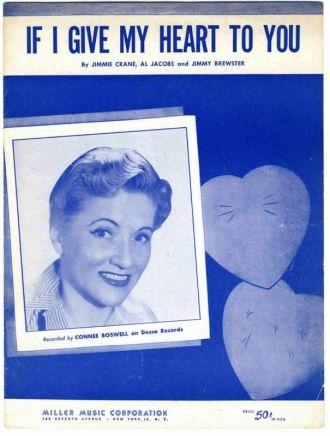 Connee Boswell, Sheet Music