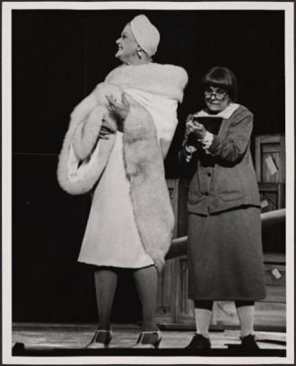 Jane Sperry Connell and Angela Lansbury