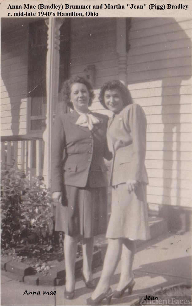 Anna Mae and Jean Bradley