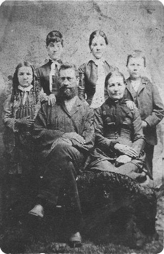 Gideon & Rosalee (Sturn) Martin Family