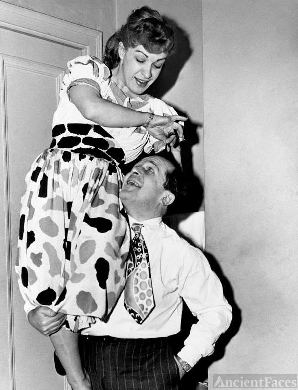 Dewey Barto and Nancy Walker