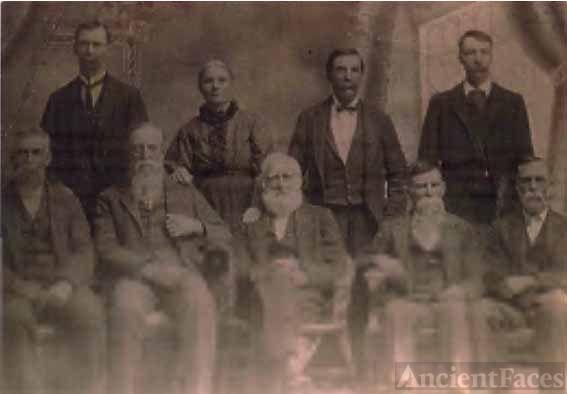 Samuel Owens Gorden & family