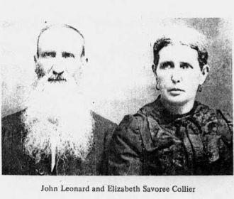 John and Elizabeth Collier