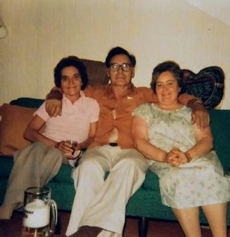 Pearl Stawnychka, Mike, and Ruby