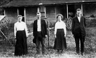 Calton Ackley Family