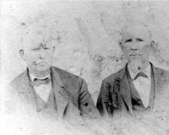 Jim and Judge McCalvis Spence