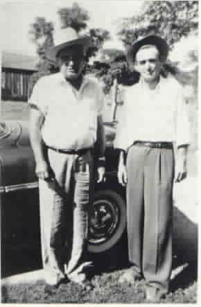 Walter Fred and Elmer Columbus (Buddy) Corbin