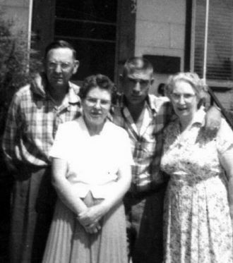 James Edward Willey and family