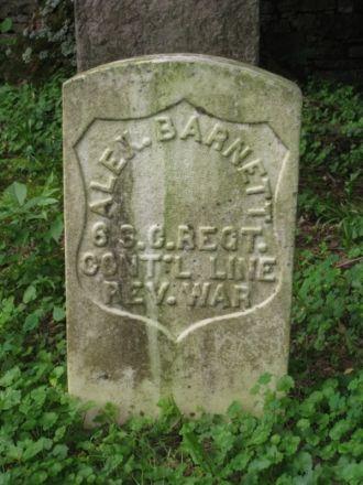Alexander Barnett 1754-1826 DAR marker