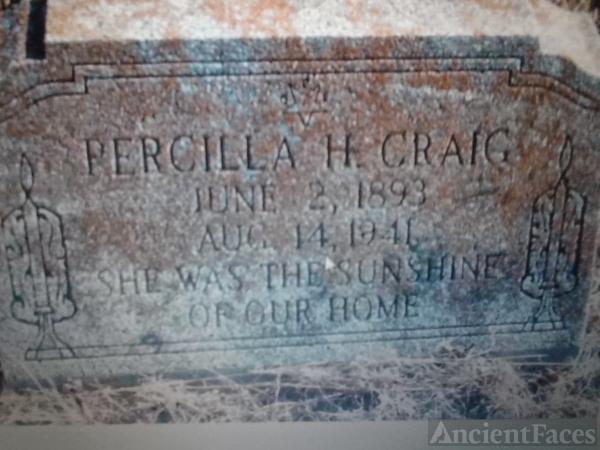 Precilla Timmons Craig Gravesite