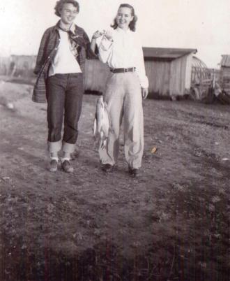 Grace and Bernice Allderdice