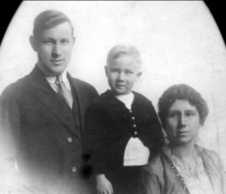 Warren Cadwell Family, 1912