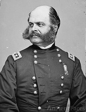 Major General Ambrose E. Burnside