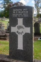 Private William Patrick Martin gravesite