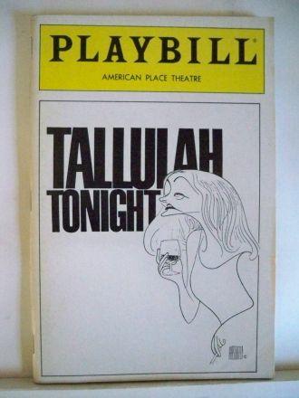 Tallulah Bankhead Playbill