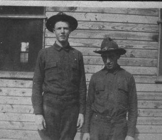 Virgil Shortt in WWI
