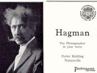 Ossian Emil Fredrik Hagman - Watsonville Photographer
