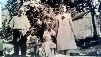 Carl & Olga (Liebelt) Tannock & children