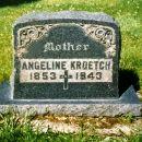 Angeline Chartrand Kroetch Gravesite