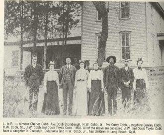 J. W. Cobb