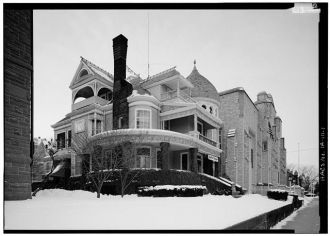 1. SOUTH SIDE AND EAST FRONT - Fannie Stout House, 1145...