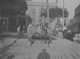 A Mounted policeman
