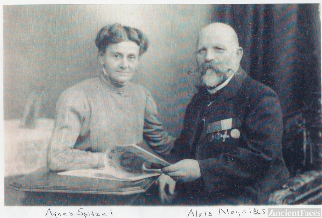 Alvis & Agnes (Spitzel) Wallner