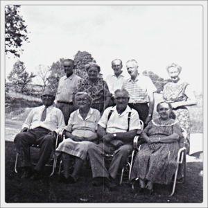 Thomas Alban Hopkins and family