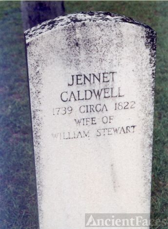 Jennet Caldwell of Abbeville, SC