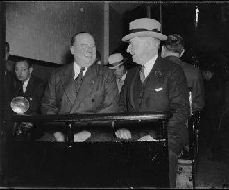 Champ Clark and Royal S. Copeland, 1937