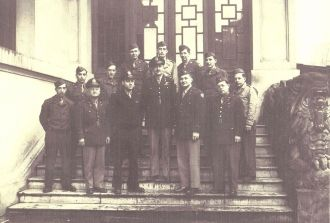 Herbert L Young WWII Group Photo