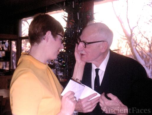 Hans Clarke and Rebecca Evans