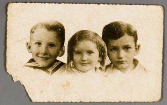 Benjamin, Juda, and Mietje Frank