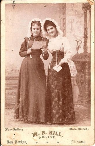Two unknown women