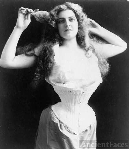 1899 Corset Demonstration