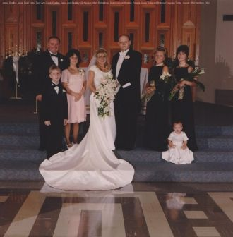 Jamie (Bradley) and Mark Richardson wedding, 1998