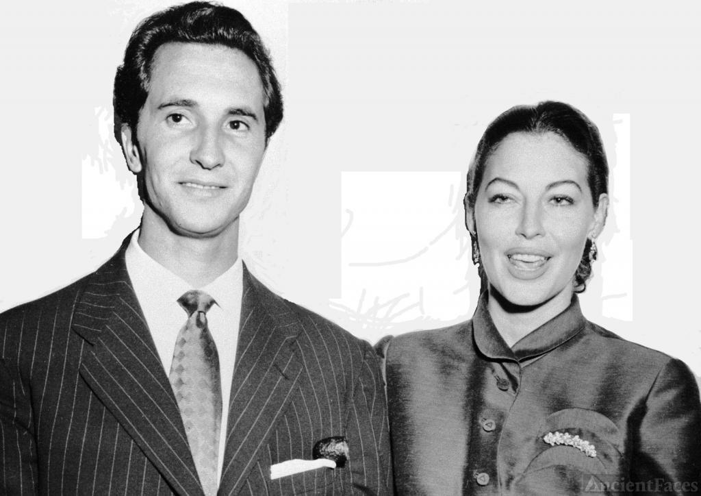 Luis Miguel Dominguin and Ava Gardner