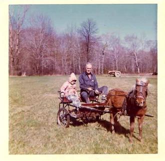 Lori and Pa(Pokey the pony)