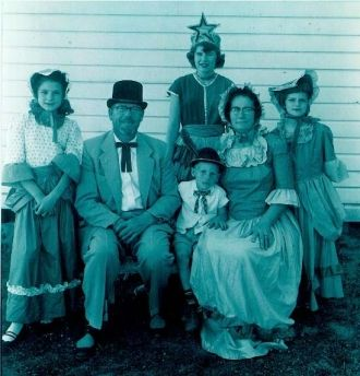 Parrish Family, 1955 North Carolina