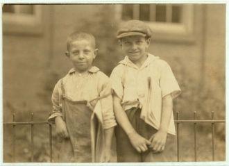 Newsboys in Hartford, Connecticut