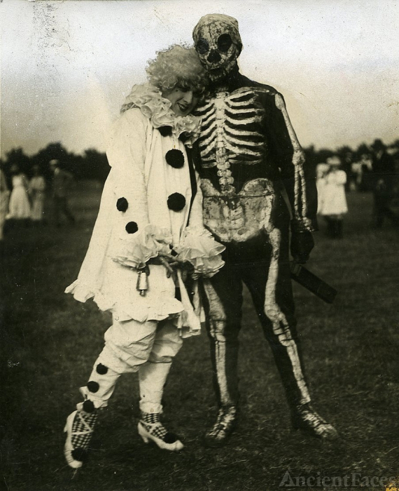 Football players in Costume - 1920