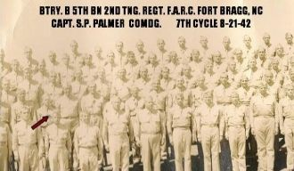 Joseph T. Browning, 1942 Fort Bragg
