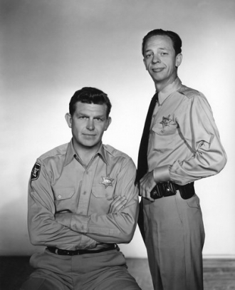 Donald Knotts and Andy Griffith