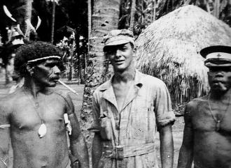June Trexler in New Guinea, 1943